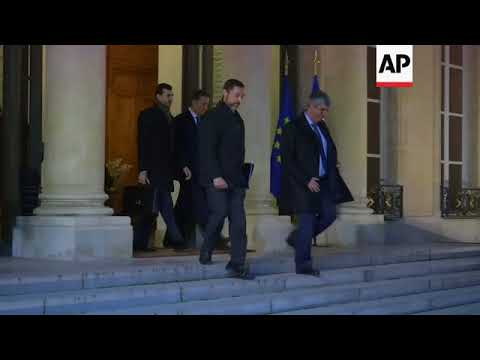 Macron meets newly-appointed Eurogroup chief