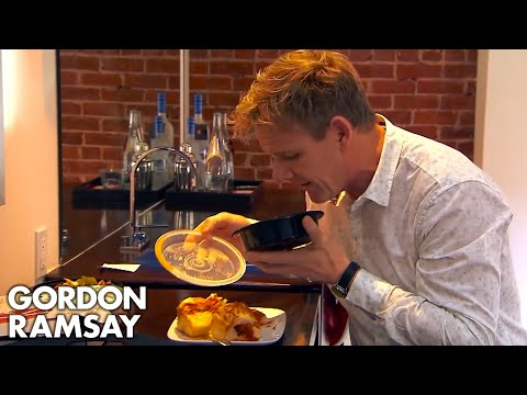 Ramsay's Brilliant Reaction to Sports Car Themed Hotel | Hot