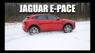 Jaguar E-Pace (ENG) - Test Drive and Review