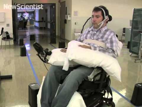 Tongue piercing lets you steer a wheelchair