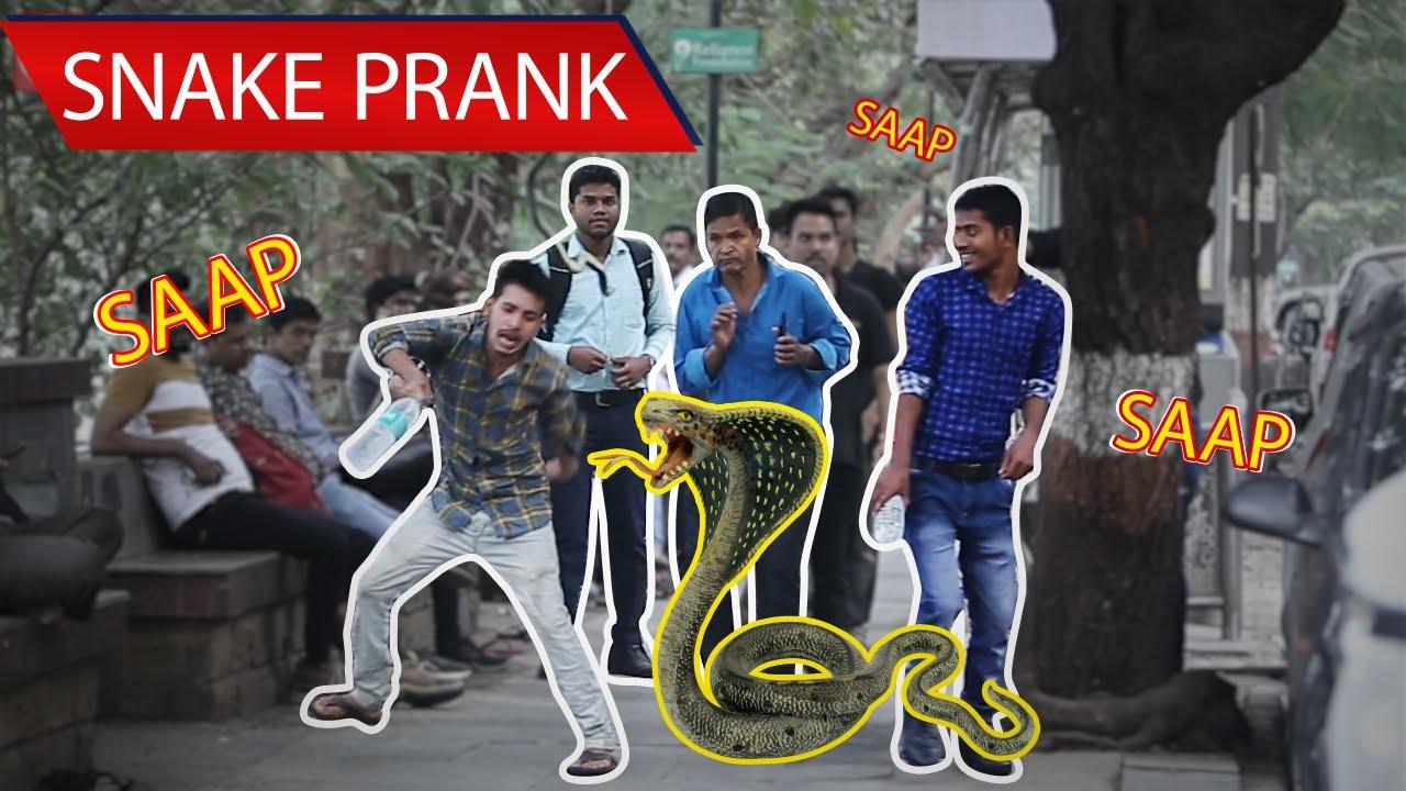مقالب هندية مضحكة 5 مقلب الثعبان