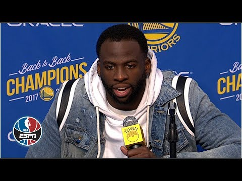 Draymond Green defends DeMarcus Cousins after win vs. Nuggets | NBA on ESPN thumbnail