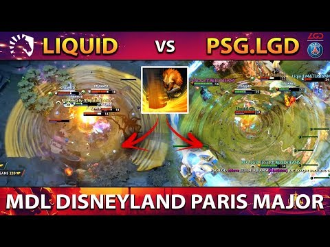 LIQUID Vs PSG.LGD - BEST OF THE BEST DOTA !! MDL DISNEYLAND PARIS MAJOR DOTA 2
