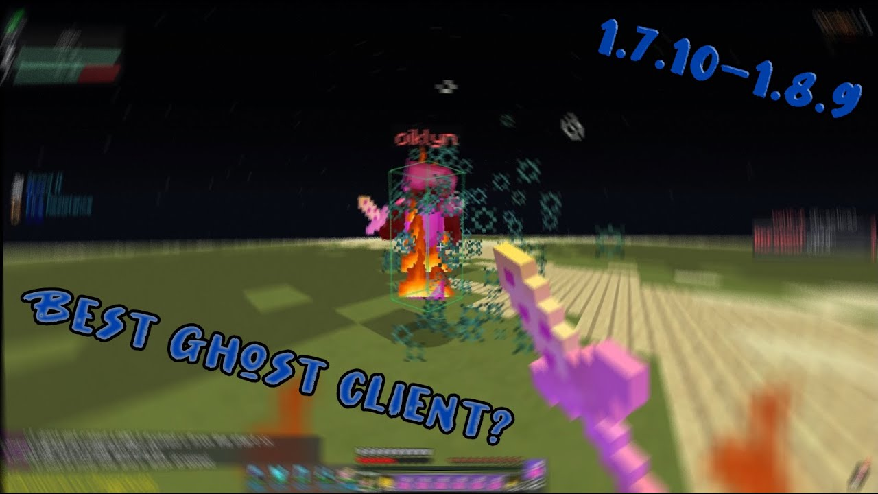 Best Undetectable Ghost Client 1 7 10 And 1 8 9 Bypass Bypasses Paladin Badlion Client Youtube
