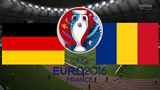 DEUTSCHLAND gegen RUMÄNIEN - EM 2016 FRANKREICH (Qualifikation) ◄GER #05►