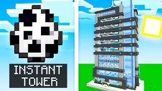 SPAWN INSTANT CITIES IN MCPE! (Minecraft Addon Mod)