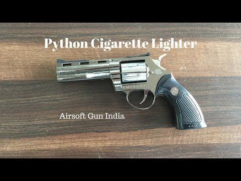 Python revolver Cigarette Lighter By Airsoft Gun India