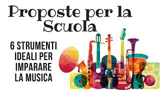 Presentazione di alcuni strumenti per il mondo della scuola disponibili da Ceccherini Music Firenze