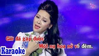 Hoa Nở Về Đêm (Karaoke Beat) - Tone Nữ | Đông Đào Karaoke