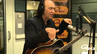 Dave Davies of the Kinks on Q104.3 With His Epiphone Masterbilt