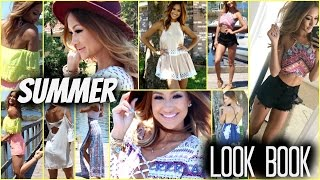 SUMMER LOOK BOOK: 7 Days of Hot Weather