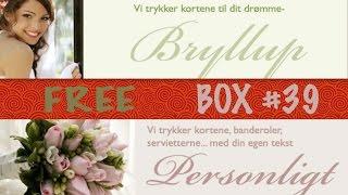 "FREE BOX #39 - ""inviterdesign"" - заказ приглашений для свадьбы и крестин"