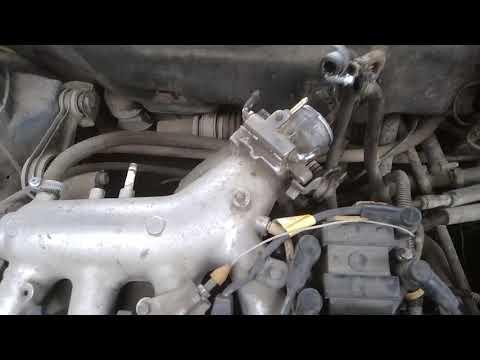 КАК снять дроссельную заслонку на ВАЗ 2112
