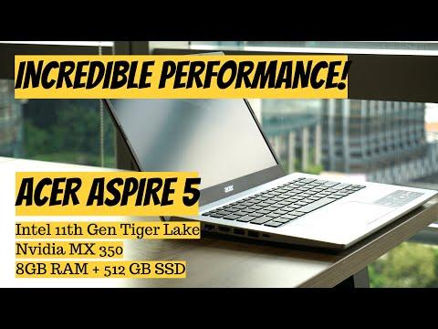 Acer Aspire 5 | Intel 11th Gen | Nvidia MX 350 - Great Laptop Under INR 60K!
