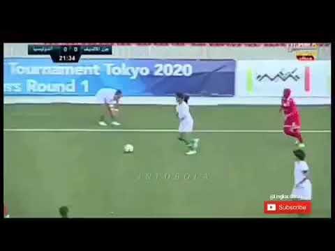 Timnas putri INDONESIA menang 3-1 atas maldives