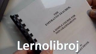 Mi forsendos lernolibron | Esperanto vlogo