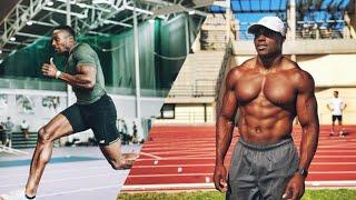 【陸上】超絶足が速い筋肉マッチョ ハリー・アイキネスの筋トレ&走り|Harry Aikines's Training