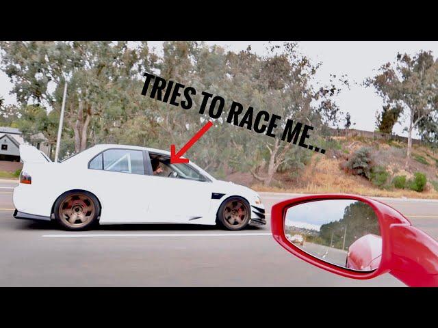 EVO OWNERS WILL NOT LEAVE ME ALONE! (Ferrari 458)