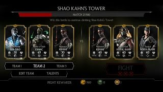Mortal Kombat X Android Shao Kahn's Tower Fight 19 - 26