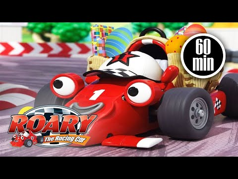 Roary The Racing Car Official 🏎️Silver Hatch Fun Run 🏎️ EASTER SPECIAL | Cartoons For Kids