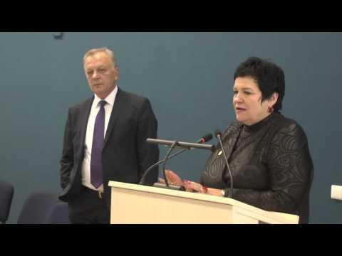 Lietuvos Respublikos švietimo ir mokslo ministrė A.Pitrėnienė lankėsi Telšiuose.