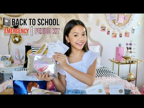 Back to School Emergency | Period Kit ORGANIC