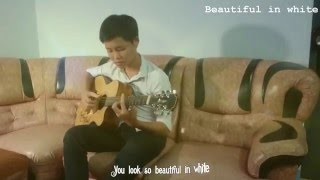 Beautiful in white - Guitar Solo Fingerstyle Cover