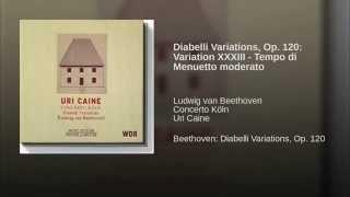 Diabelli Variations, Op. 120: Variation XXXIII - Tempo di Menuetto moderato