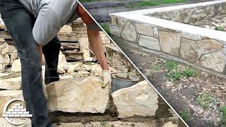видео Как сделать мангал из камня своими руками: подготовка и строительство