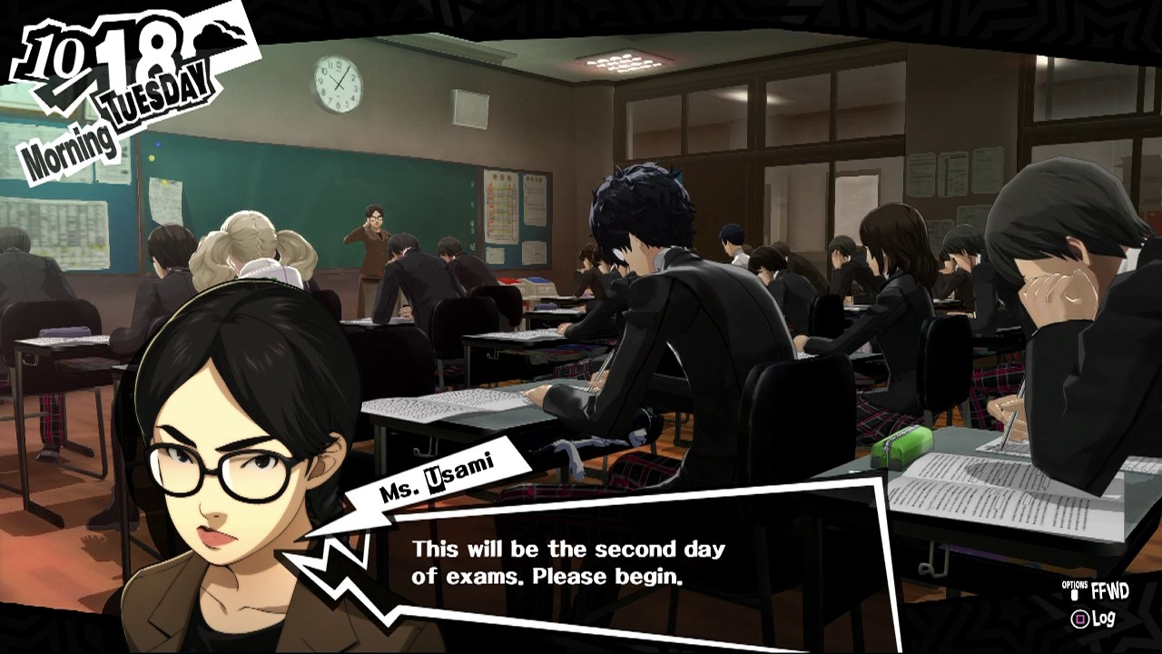 Persona 5 - 10/17 -- 10/20 Midterms Answers