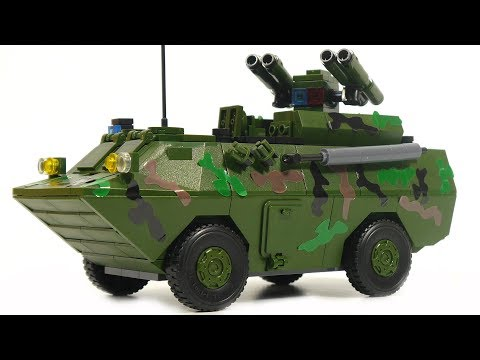 Winner Tank Battle 8006 armored personnel carrier WZ550 with rocket launcher HJ-9