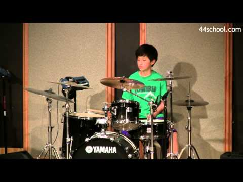 Alex H  44 School of Music  Seattle Concert  Spring 2014  Drum Lessons