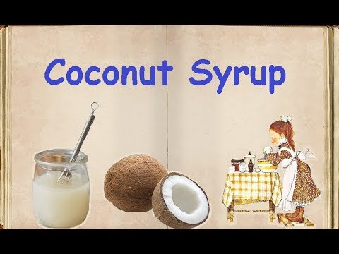 Coconut Syrup / Book of recipes / Bon Appetit