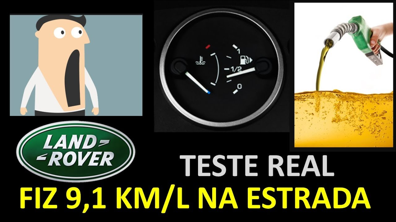 consumo real freelander 2 - youtube