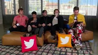 5 Seconds Of Summer Playing an intense game of #5SOSWouldYouRather