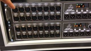 X32 PA Setup with S16