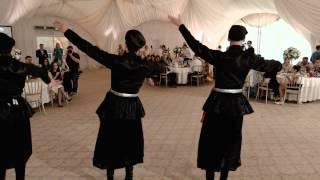 "Ансамбль "" ШАТИЛИ "" (Грузинский танец Кинтаури )"