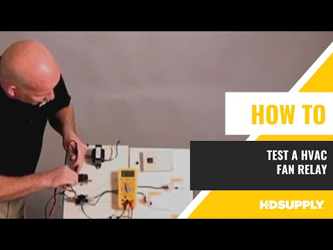 How To Test HVAC Fan Relay