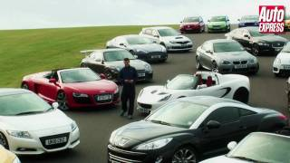 Auto Express Performance Car of the Year 2010 group review