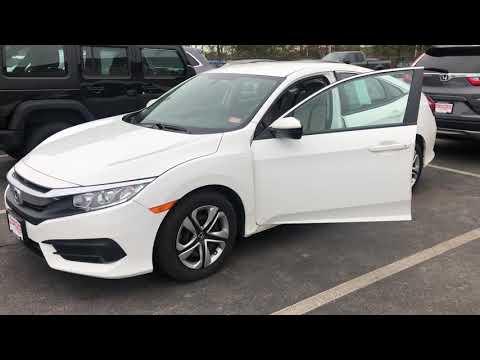 2016 Honda Civic LX demo for Bob