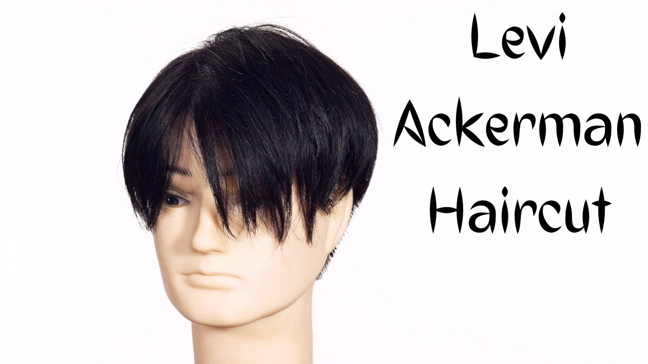 Levi Ackerman Undercut Haircut Tutorial Thesalonguy Youtube