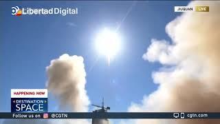 Despega la primera misión tripulada hacia la estación espacial de China