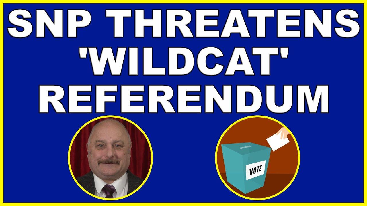 SNP threatens 'wildcat' Scottish independence referendum! (4k)