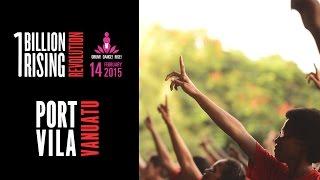 One Billion Rising FlashMob - Port-Vila, Vanuatu