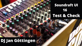 Soundcraft Ui16 - Produktreview - DJ Jan Göttingen