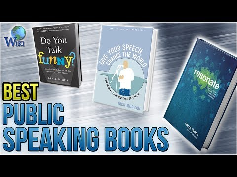 Top 10 Public Speaking Books of 2019 | Video Review