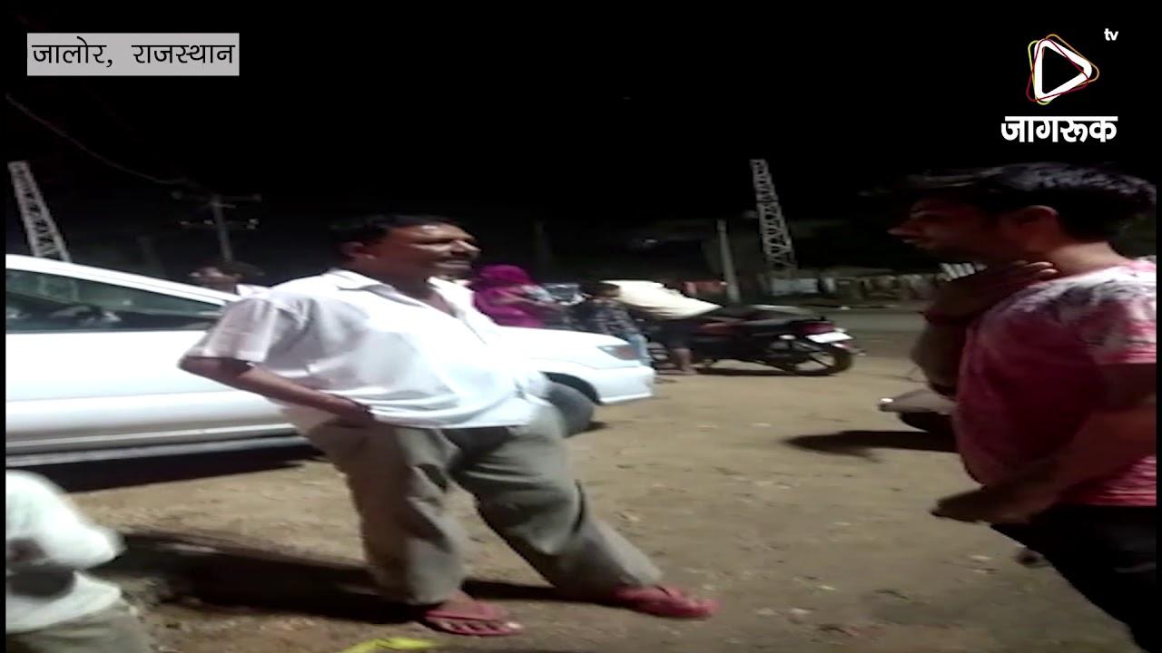जालौर : शुक्रवार देर रात भीनमाल बाईपास पर पीएचडी की बड़ी वाली पाइप लाइन टूट गया