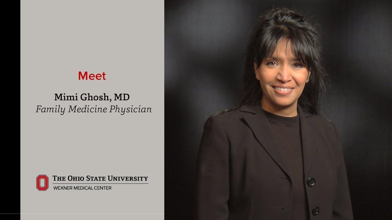 meet family medicine physician mimi ghosh ohio state medical rh youtube com