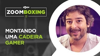 Montando a Cadeira Gamer Prime Evo (DT3 Sports) - BOXING | ZOOMBOXING