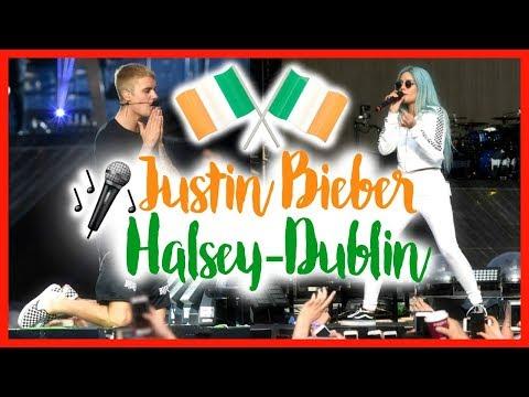 JEDZIEMY Z ANGELIKĄ NA KONCERT JUSTINA BIEBERA & HALSEY | PURPOSE TOUR DUBLIN